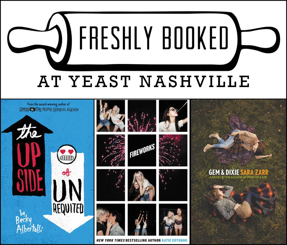 Freshly Booked with Becky Albertalli, Katie Cotugno, and Sara Zarr